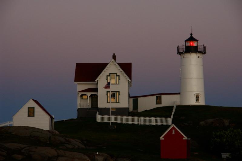 DSC00433.jpg not portland head light but nubble lighthouse like a doll house handheld :( by donald verger
