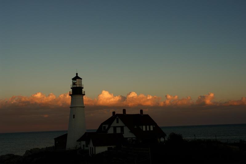 DSC00532lthouse.jpg PORTLAND HEAD LIGHT lighthouse by donald verger