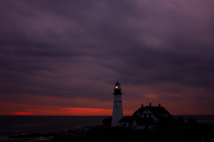 DSC00574.jpg PORTLAND HEAD LIGHT LIGHTHOUSE by donald verger 3rd in this dawn sequence