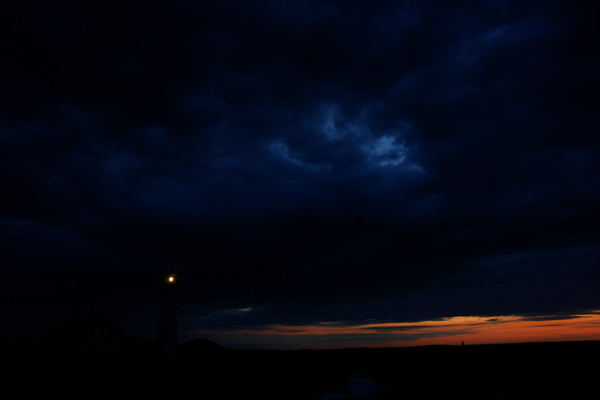 DSC03598.jpg PORTLAND HEAD LIGHT by DONALD VERGER lighthouses an extraordinary dawn october 1 2006