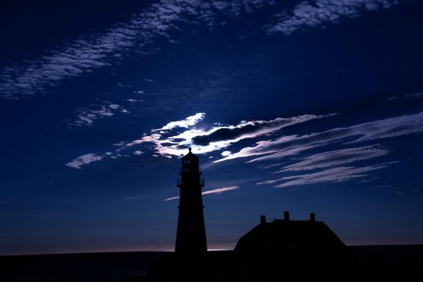 DSC00548.jpg SUNRISE! PORTLAND HEAD LIGHT by donald verger... lighthouses, long story
