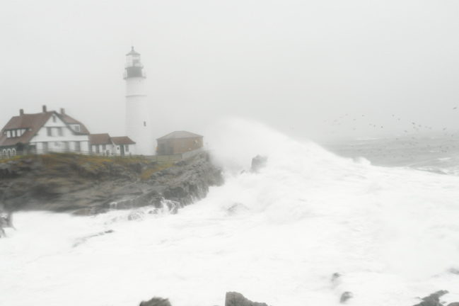 DSC07786650.jpg IM COLD my camera is wet behind the lens... PORTLAND HEAD LIGHT DONALD VERGER MAINE TODAY