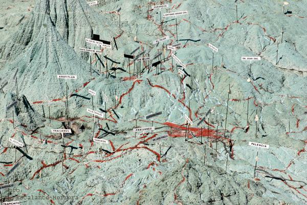 Detalle del Area de la Ciudad Capital de Guatemala