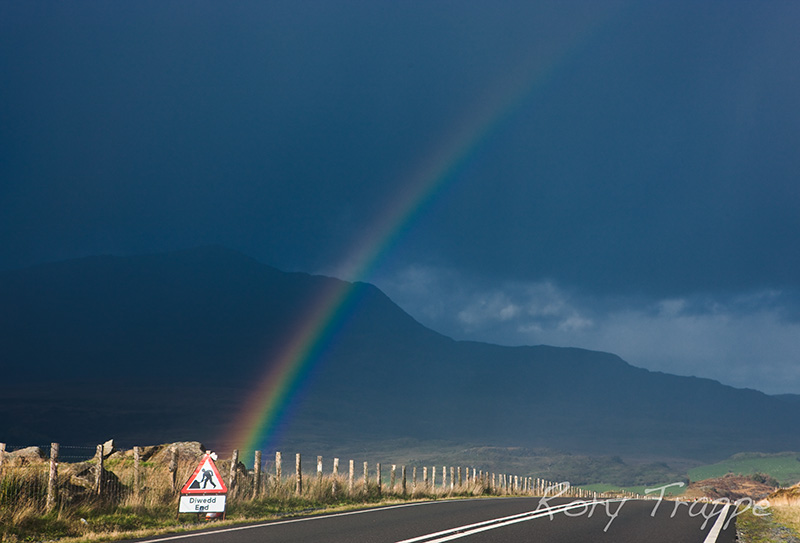 end of the rainbow.