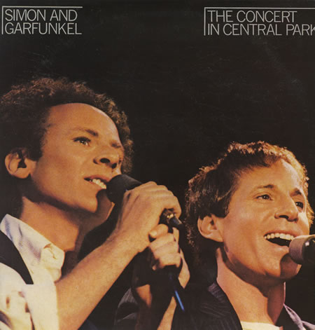 The Concert In Central Park ~ Simon & Garfunkel (Double Album)
