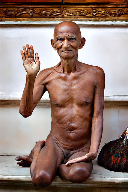 Blessings of a Jain Monk