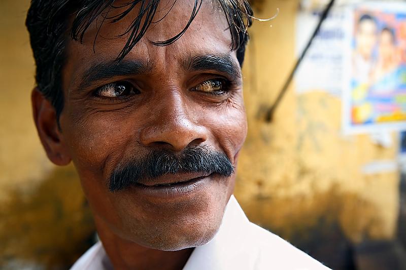 A rickshaw man