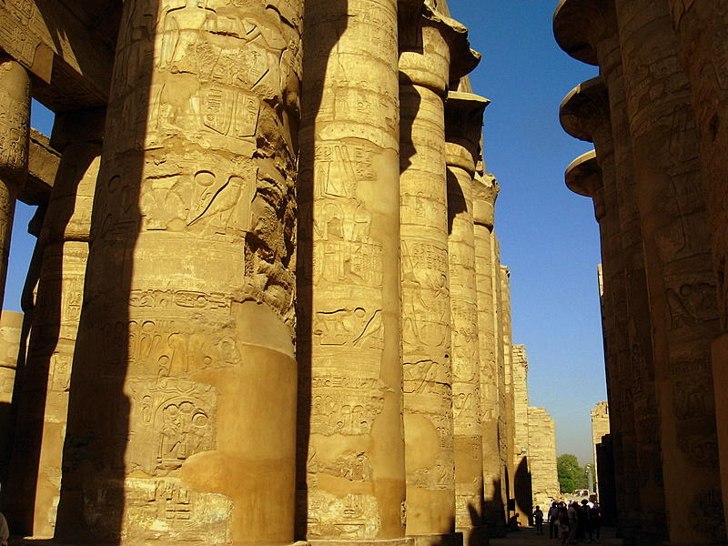 The Hypostyle Hall at Karnak Temple, Luxor