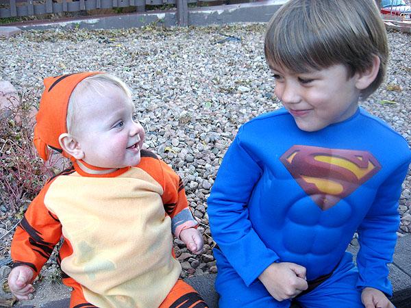 Tigger and Superman