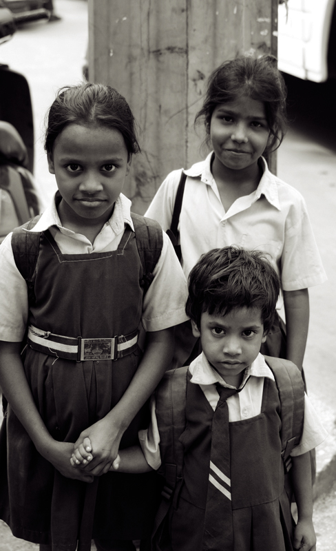 Sisters and a friend, Old Delhi
