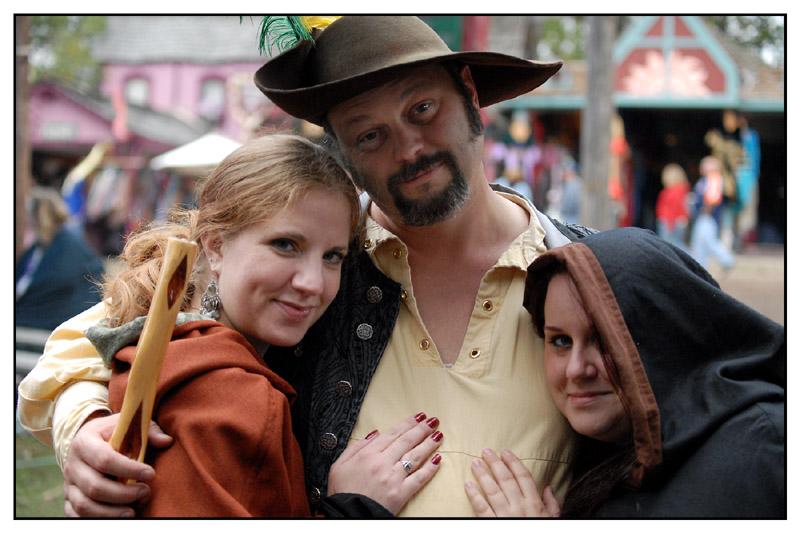 Megan, Squire Paul and Liz