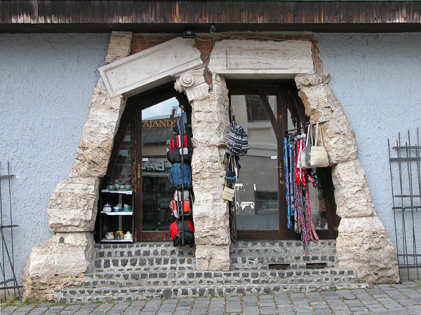 Shop entrance - Szentendre
