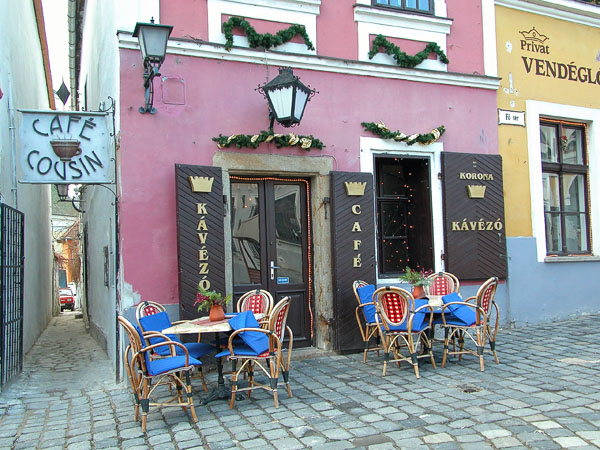 A small bistrot, Main Square (Fö Tér)- Szentendre