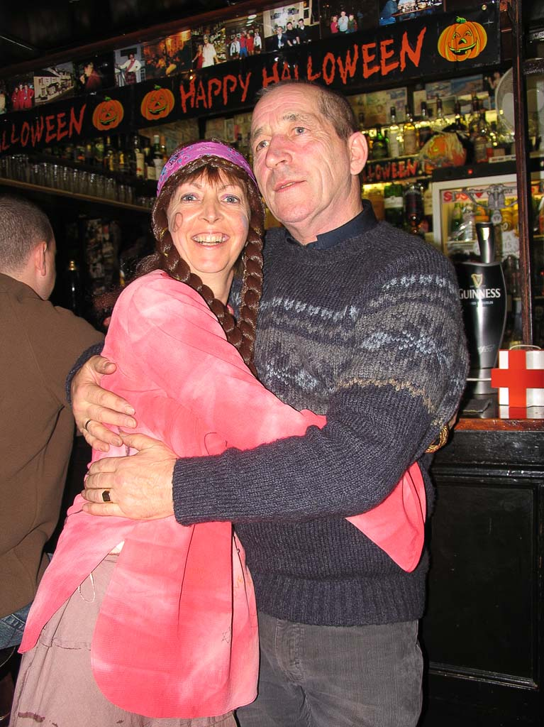 Liz and George