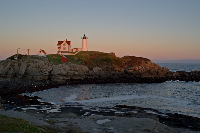 The Nubble at low tide