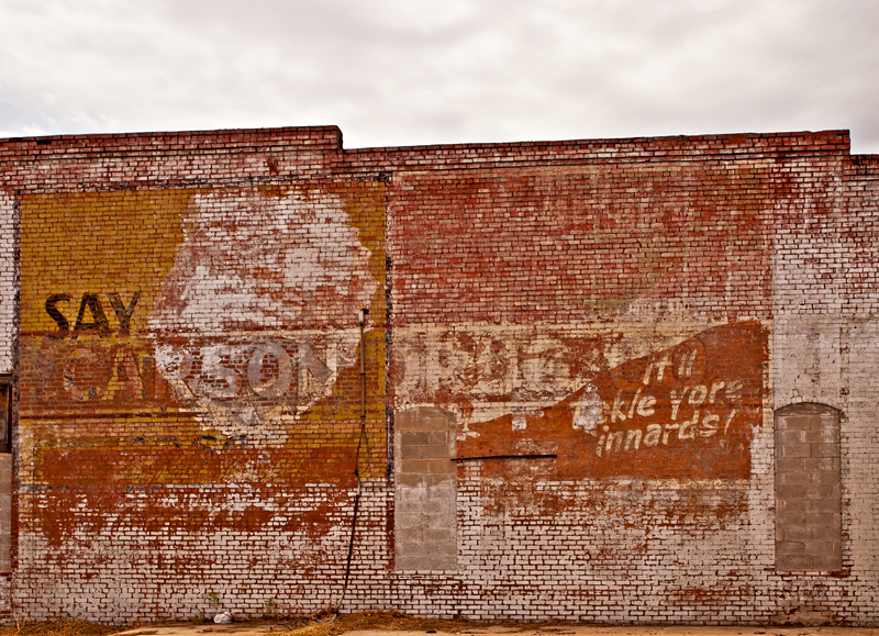 An Ardmore, OK ghost wall