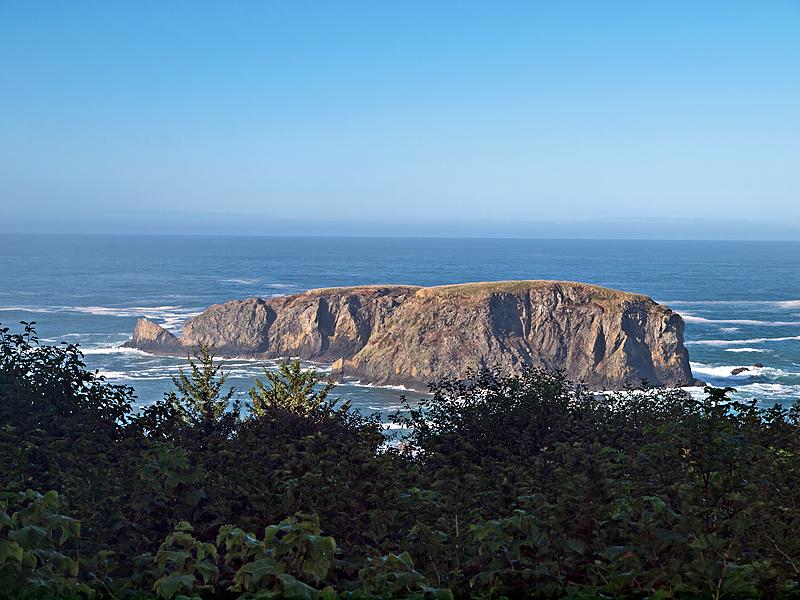 Whale Rock, Brookings, Oregon