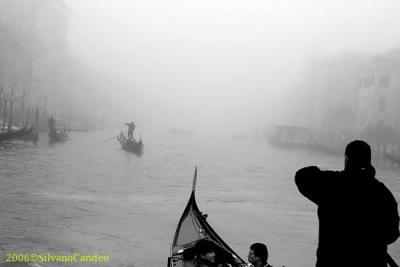 fog in Canal Grande