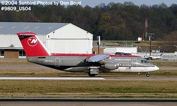 Northwest Airlines Jet Airlink (Mesaba Airlines) AVRO 146-RJ85A N513XJ airline aviation stock photo #9809_US04