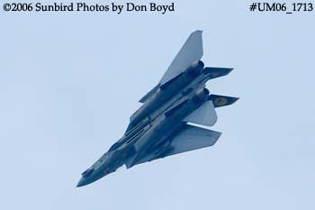 The final flight ever for USN F-14D Grumman Tomcat 164342 Felix 100 military aviation stock photo #UM06_1713