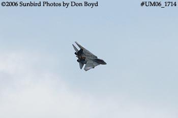 The final flight ever for USN F-14D Grumman Tomcat 164342 Felix 100 military aviation stock photo #UM06_1714