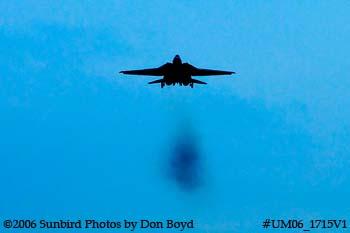 The final flight ever for USN F-14D Grumman Tomcat 164342 Felix 100 military aviation stock photo #UM06_1715V1