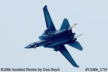 The final flight ever for USN F-14D Grumman Tomcat 164342 Felix 100 military aviation stock photo #UM06_1719