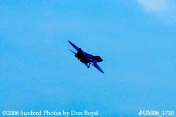 The final flight ever for USN F-14D Grumman Tomcat 164342 Felix 100 military aviation stock photo #UM06_1720