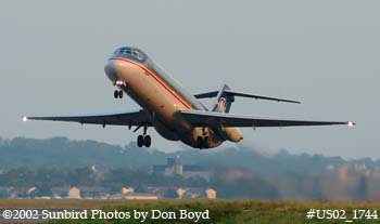 Midwest Express DC9-32 N215ME airline aviation stock photo #US02_1744