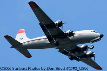 Florida Air Transport C54G-DC N406WA cargo airline aviation stock photo #1792_US06