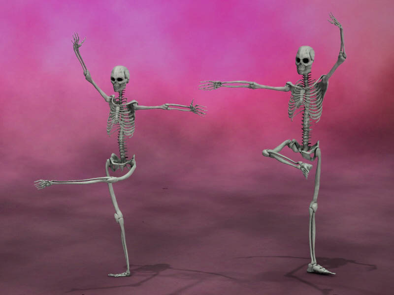 Dancing Skeletons 2
