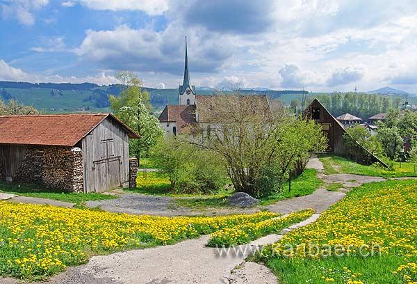 Blick zur Kirche (00657)