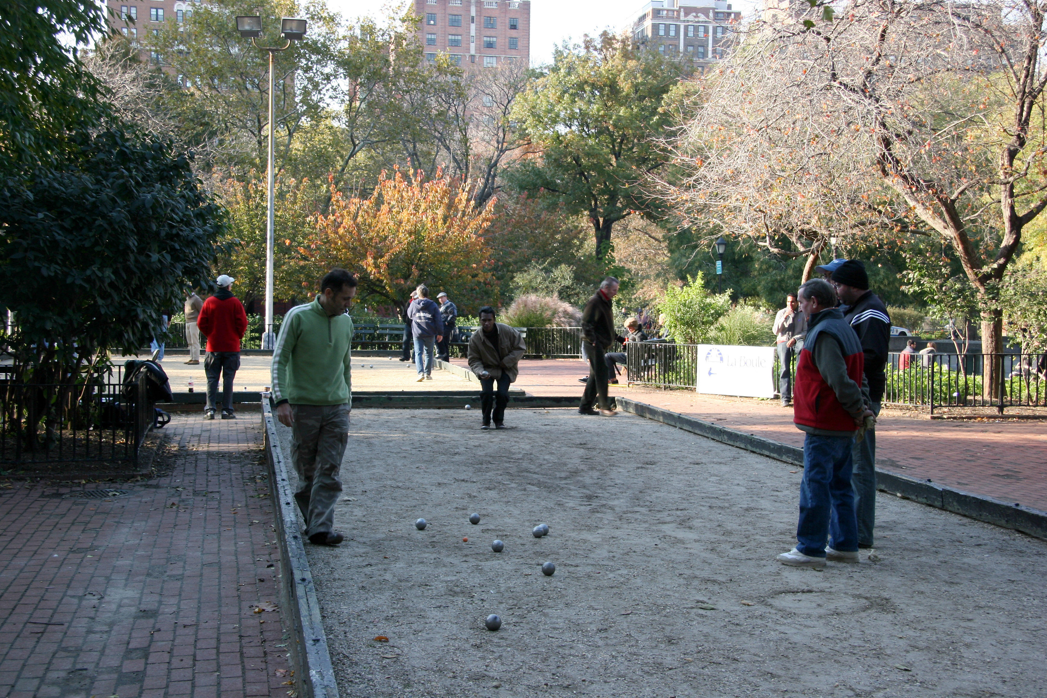 La Boule or Bocce Ball Tournament