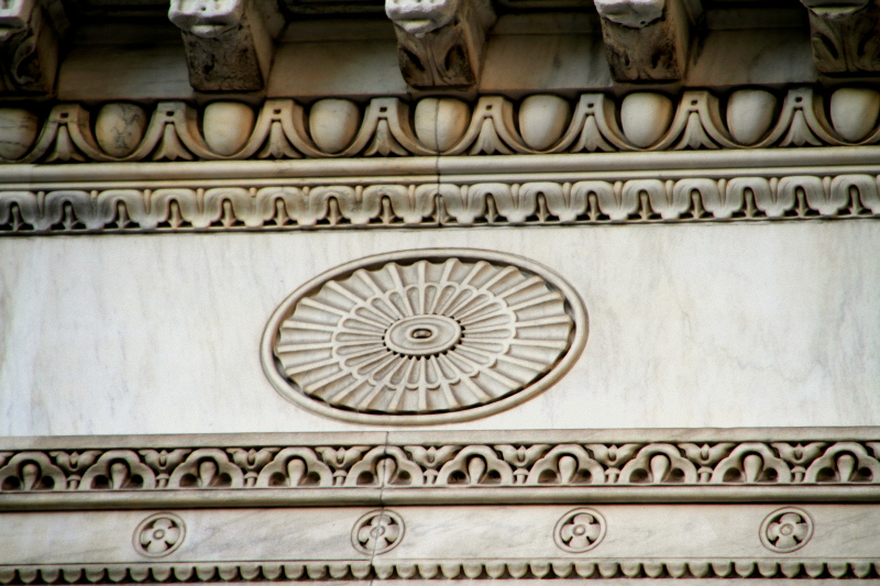 Philadelphia - Center City building decoration