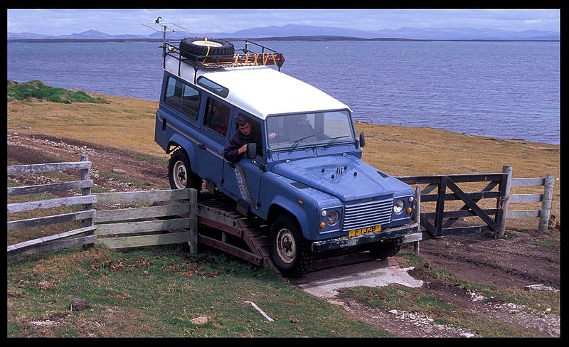 Transportation on Pebble Island