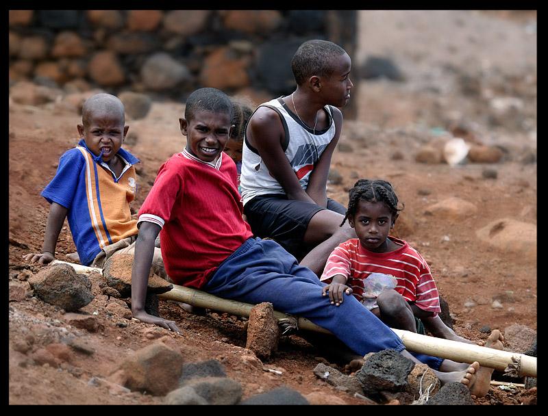Children in Estancia Bras - Sao Nicolau, Cap verde 2004