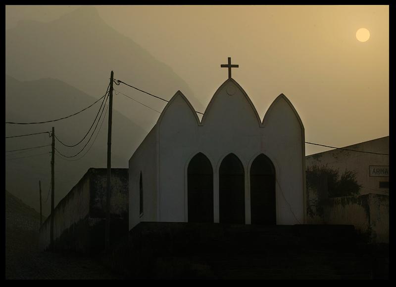 Local church at Santo Antao