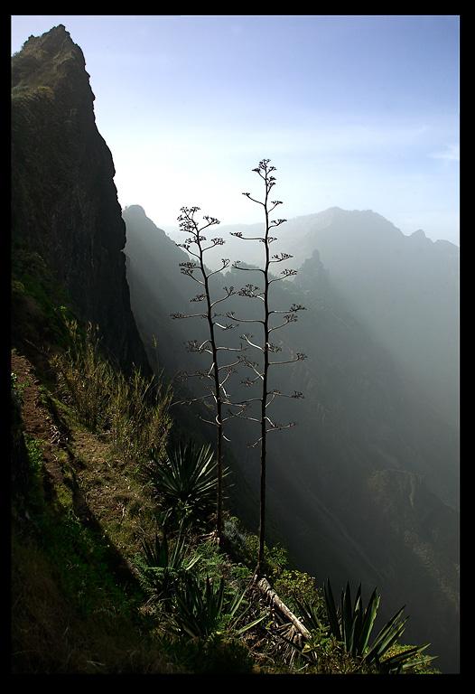Impressive landscape at Sao Antao