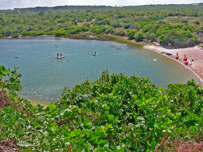 Jacumã Lagoon