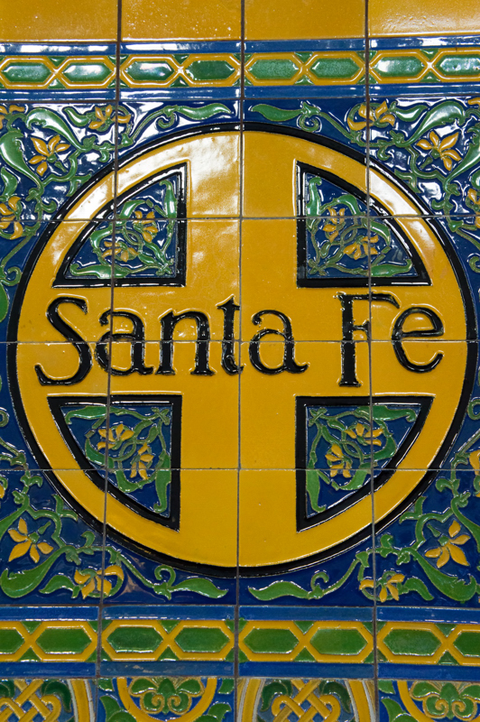 Ornate Station Tiling, San Diego