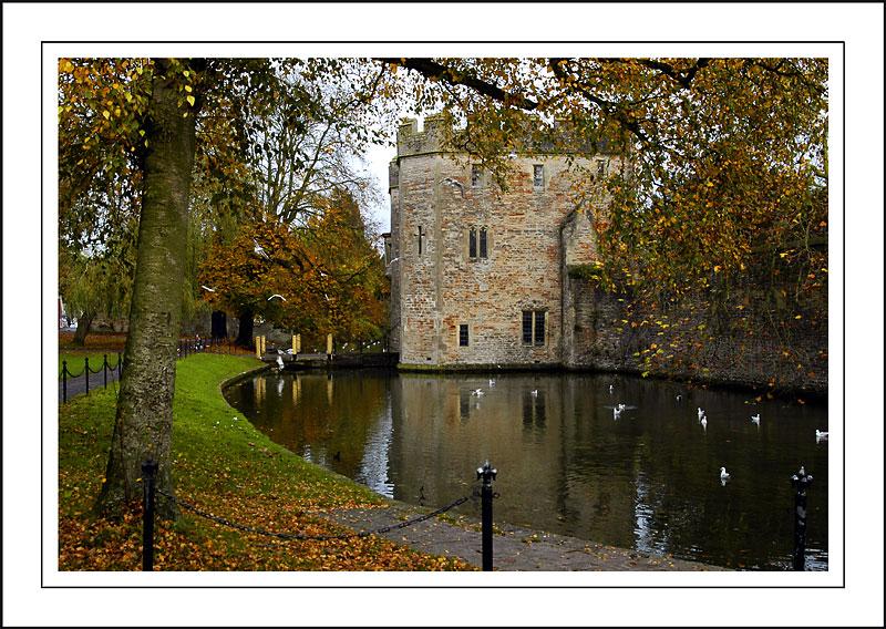 Moat and drawbridge, Wells