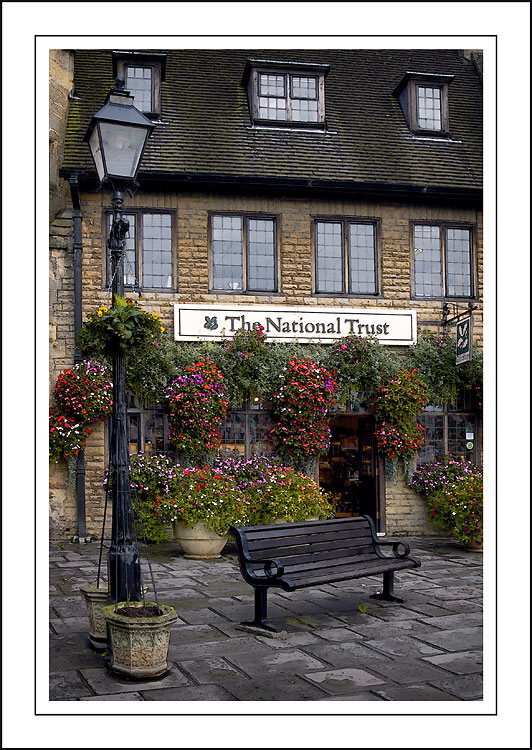 The National Trust shop, Wells