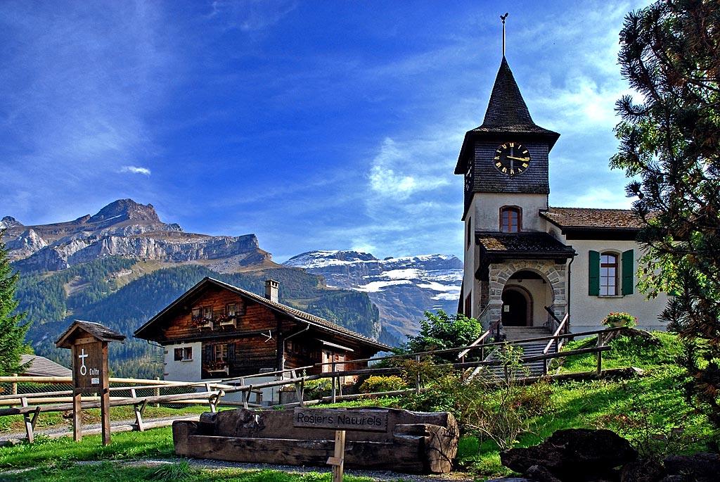 The little church, Les Diablerets (3146)