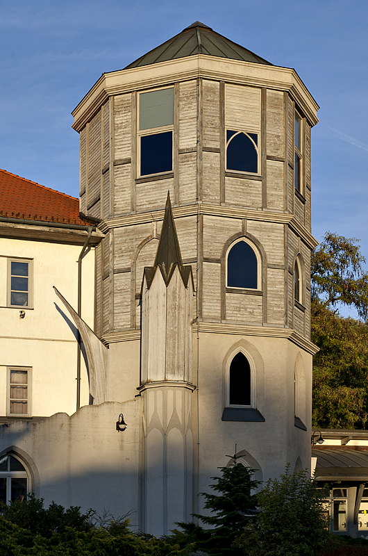Wooden tower