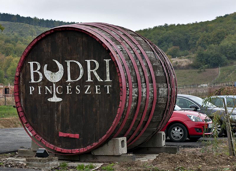 Bodri Vineyards, the reason we went to Szekszárd