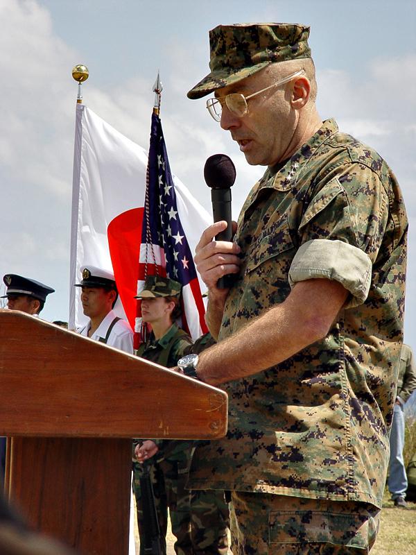 Lt. Gen. Chip Gregson, our host