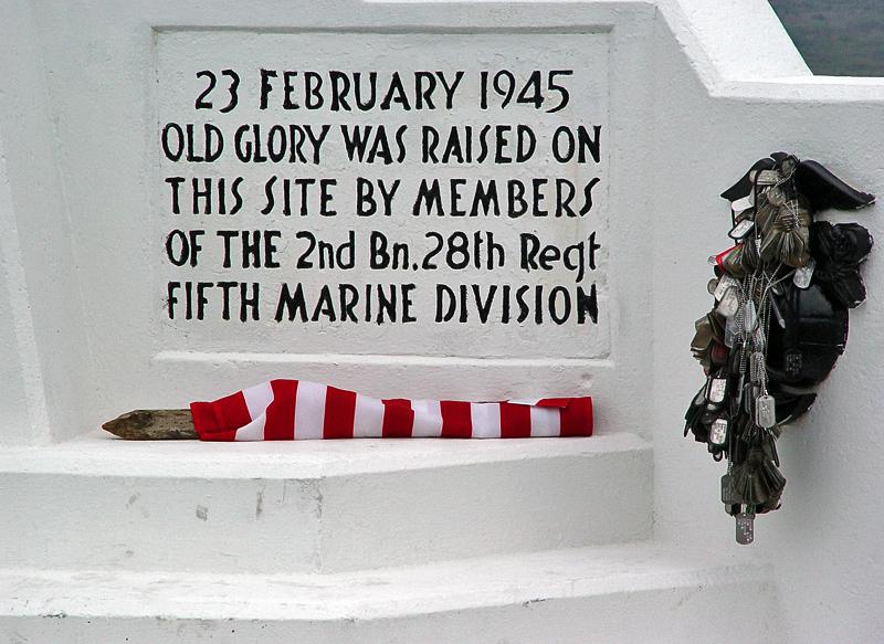 Memorial on Mt. Suribachi
