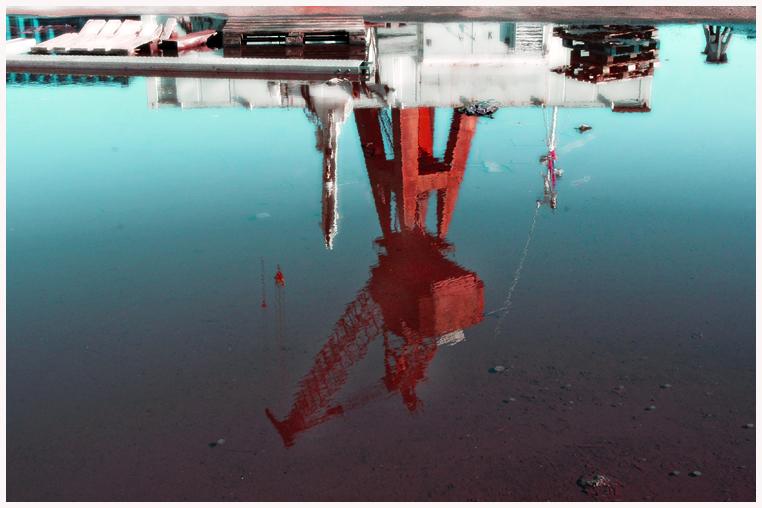 Crane on the docks