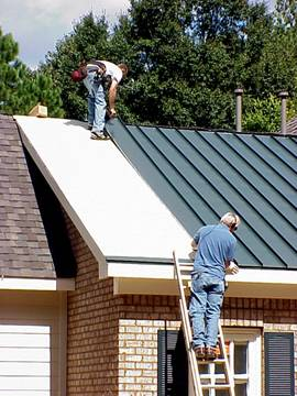 House - 96 - Standing Seam Metal Roof