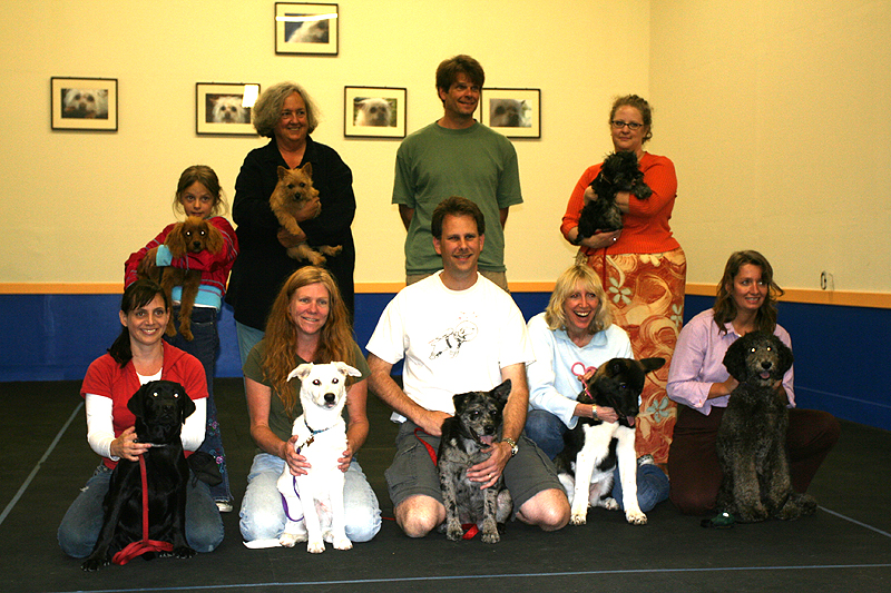 Graduation from Maggies puppy training class